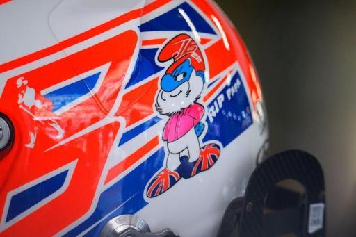 Button's helmet—China 2014