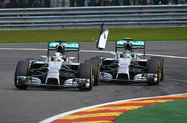 Rosberg-Hamilton—Spa 2014