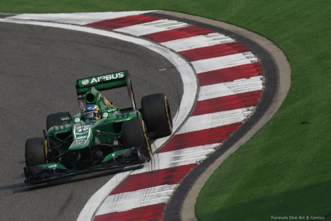 Caterham—China 2013