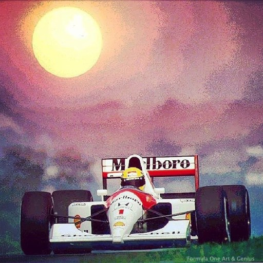 Colorized Senna