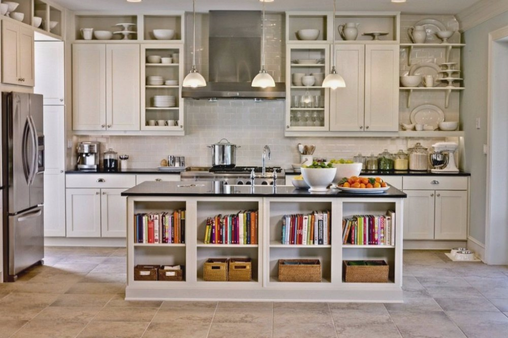 Area Storage Kitchen Set Sederhana