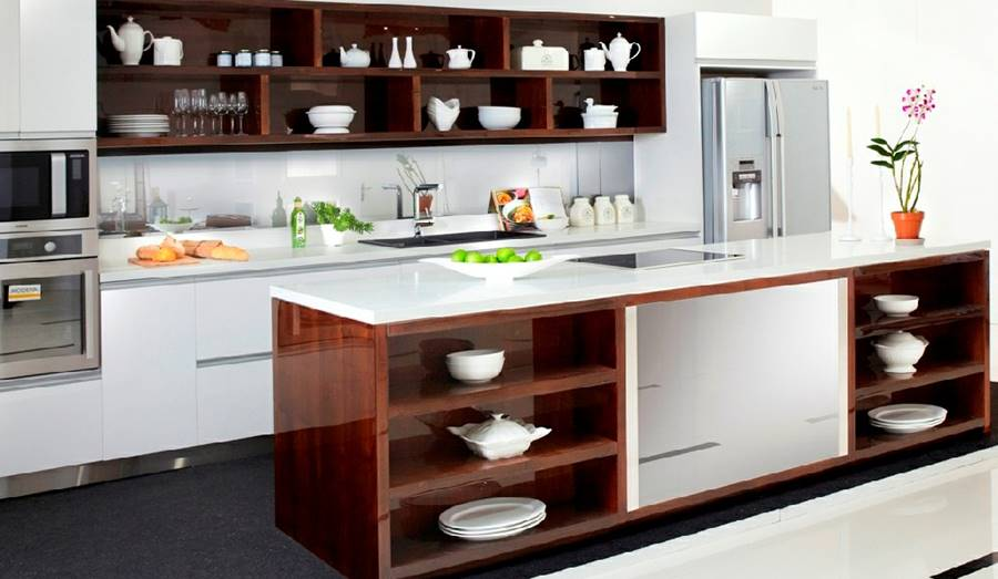 Kabinet Terbuka Kitchen Set Murah