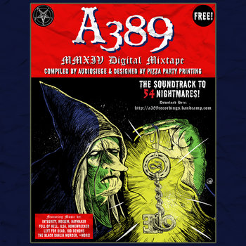 A389 2014 DIGITAL MIXTAPE cover art