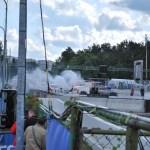Šeideram nodeg mašīna pirmajā Latvijas RX kvalifikācijā, foto: Edgars Beļakovs
