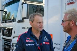Peugeot-Hansen boss Kenets Hansens, Foto: Edgars Beļakovs