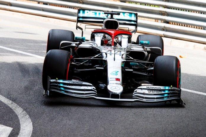 Luiss Hamiltons, Foto: Mercedes F1