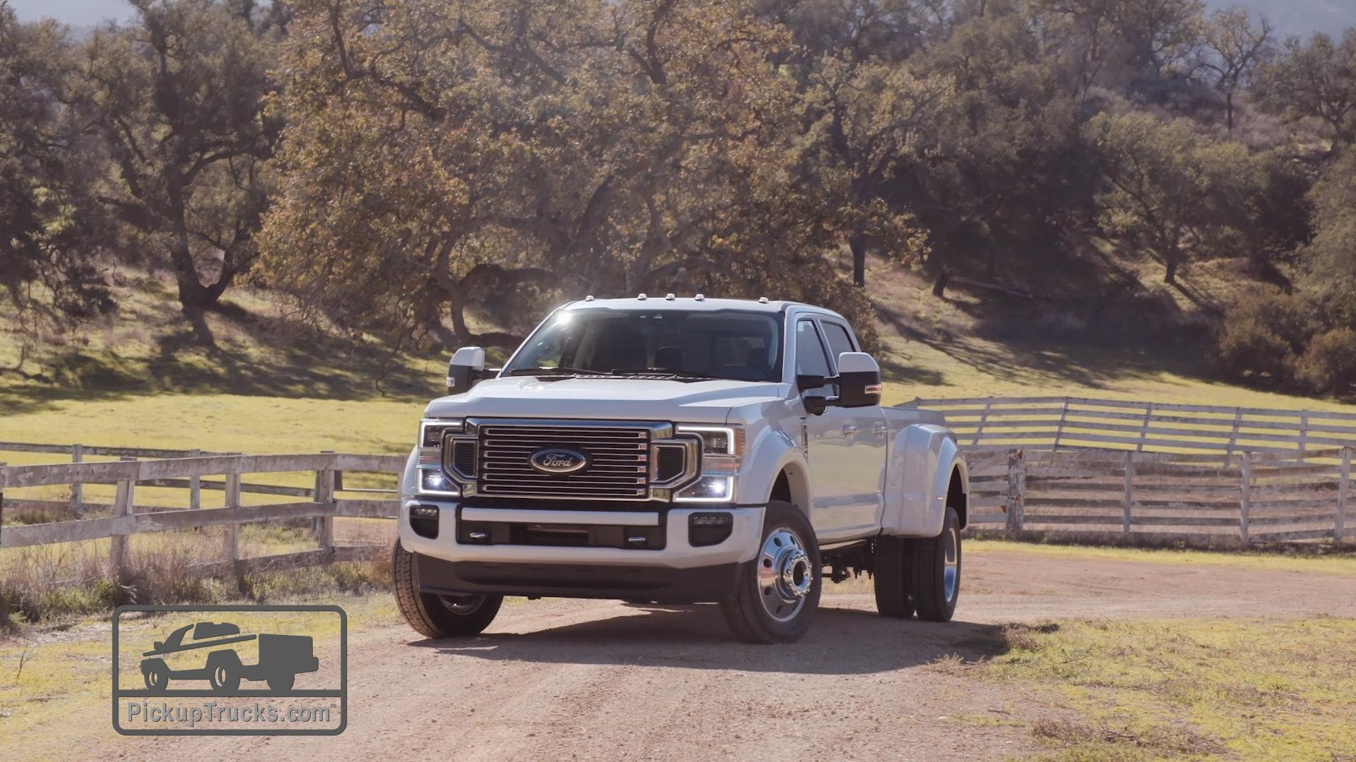 medium resolution of 2020 ford f 250 f 350 and f 450 video inside outside and under the hood pickuptrucks com news
