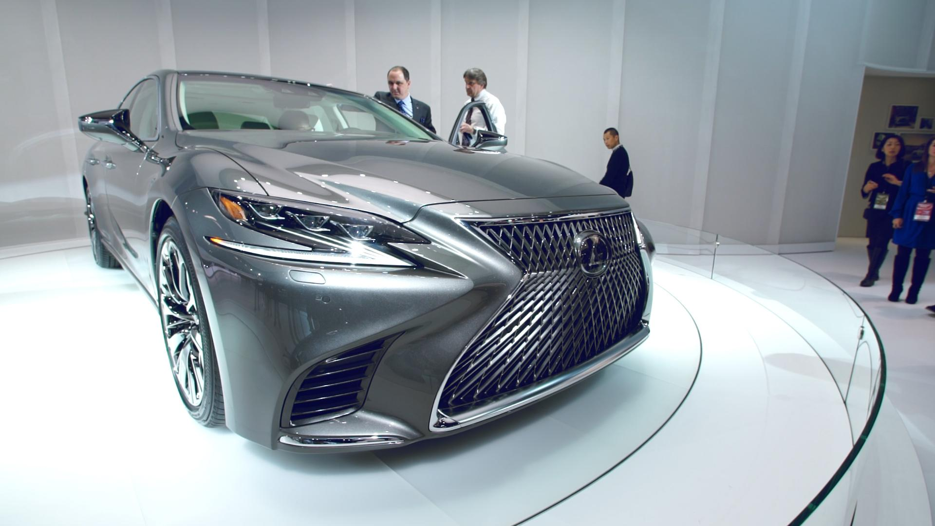 2018 Lexus LS Preview