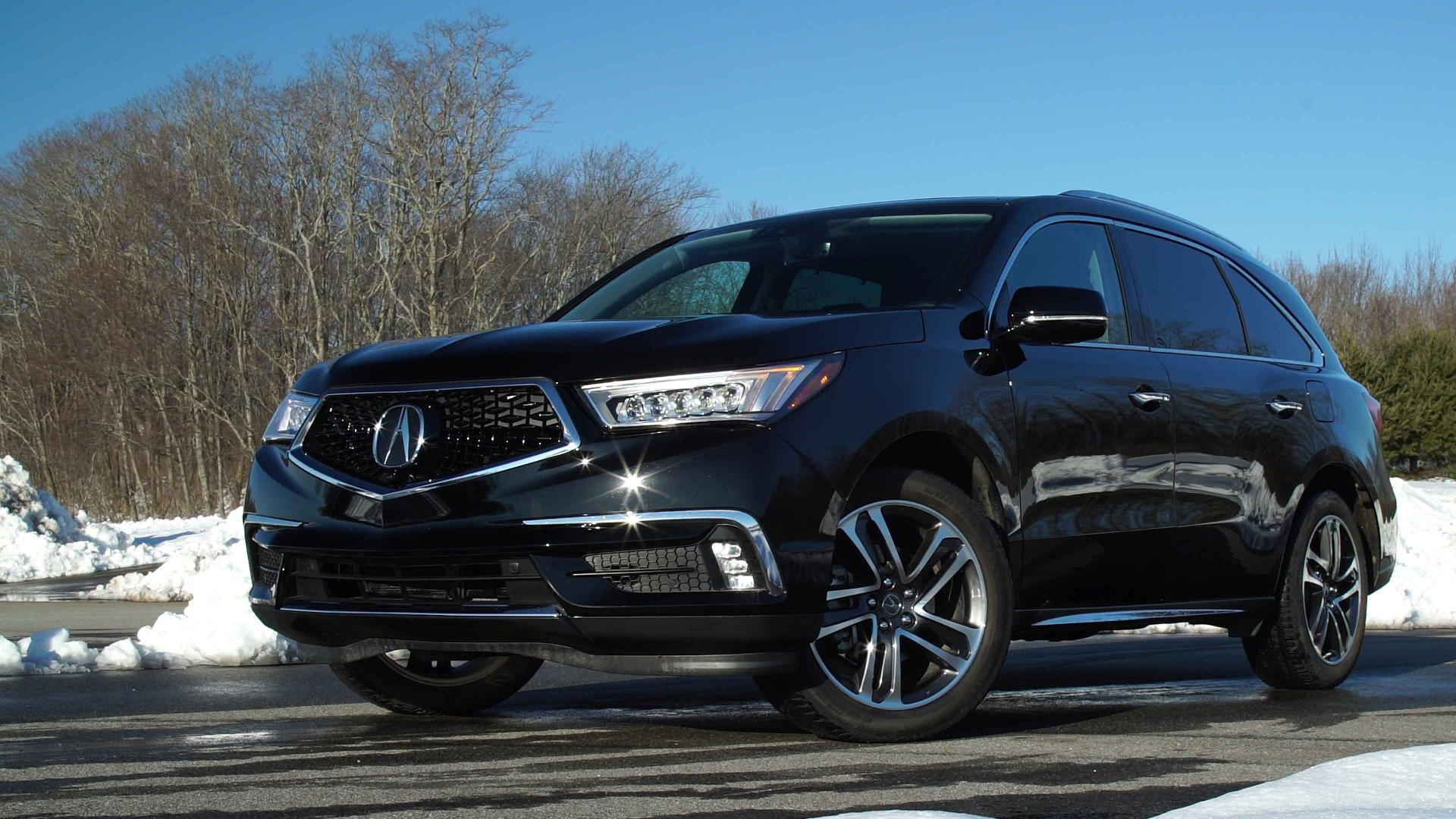 2017 Acura MDX Changes For The Better Consumer Reports