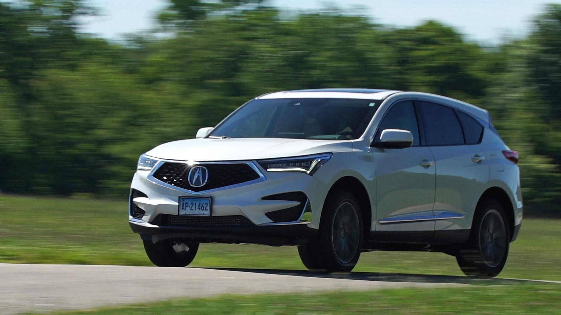 all new 2019 acura rdx shines with peppy engine improved ride and handling [ 1920 x 1080 Pixel ]