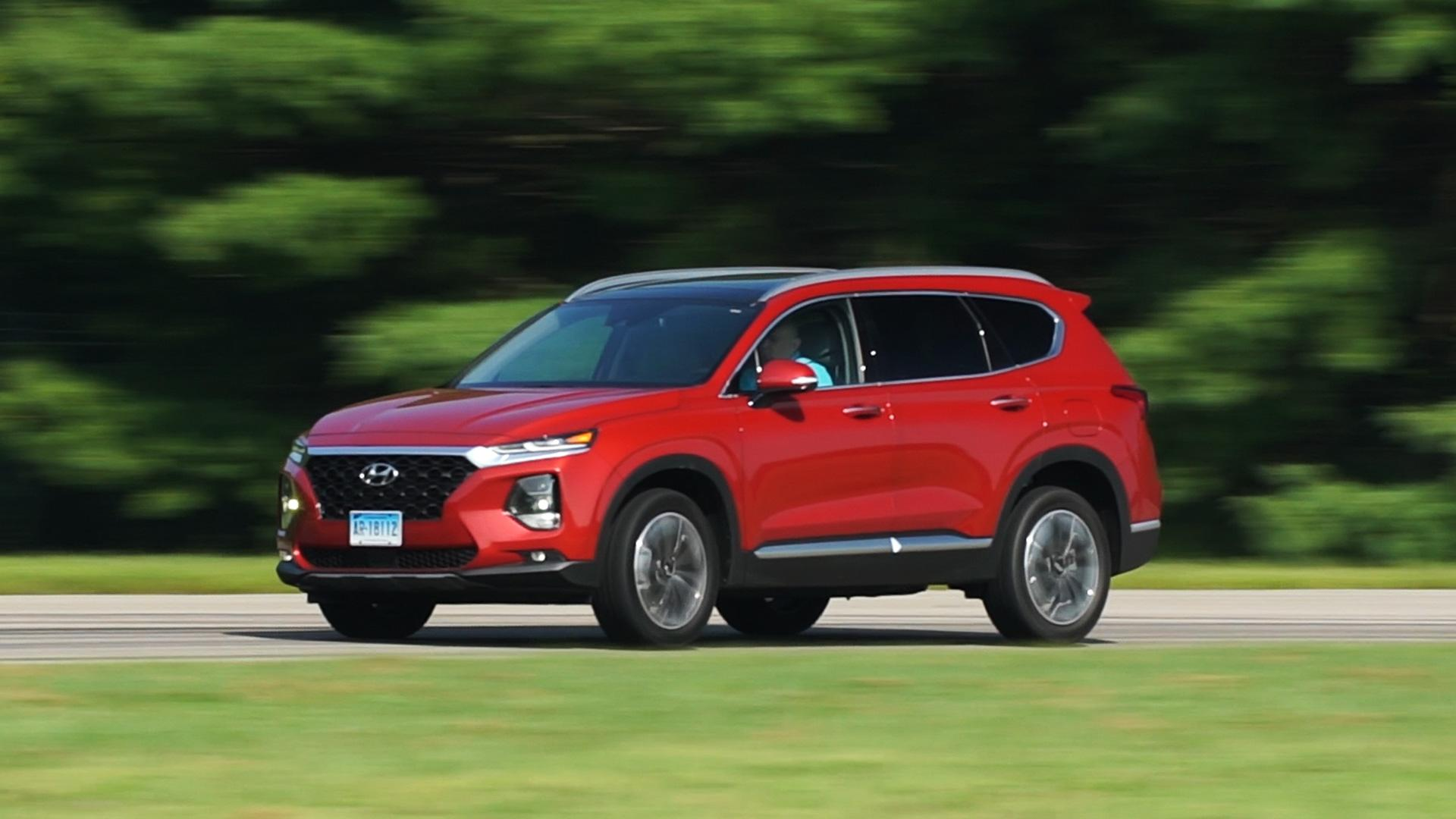 2019 hyundai santa fe is a well rounded impressive suv [ 1920 x 1080 Pixel ]
