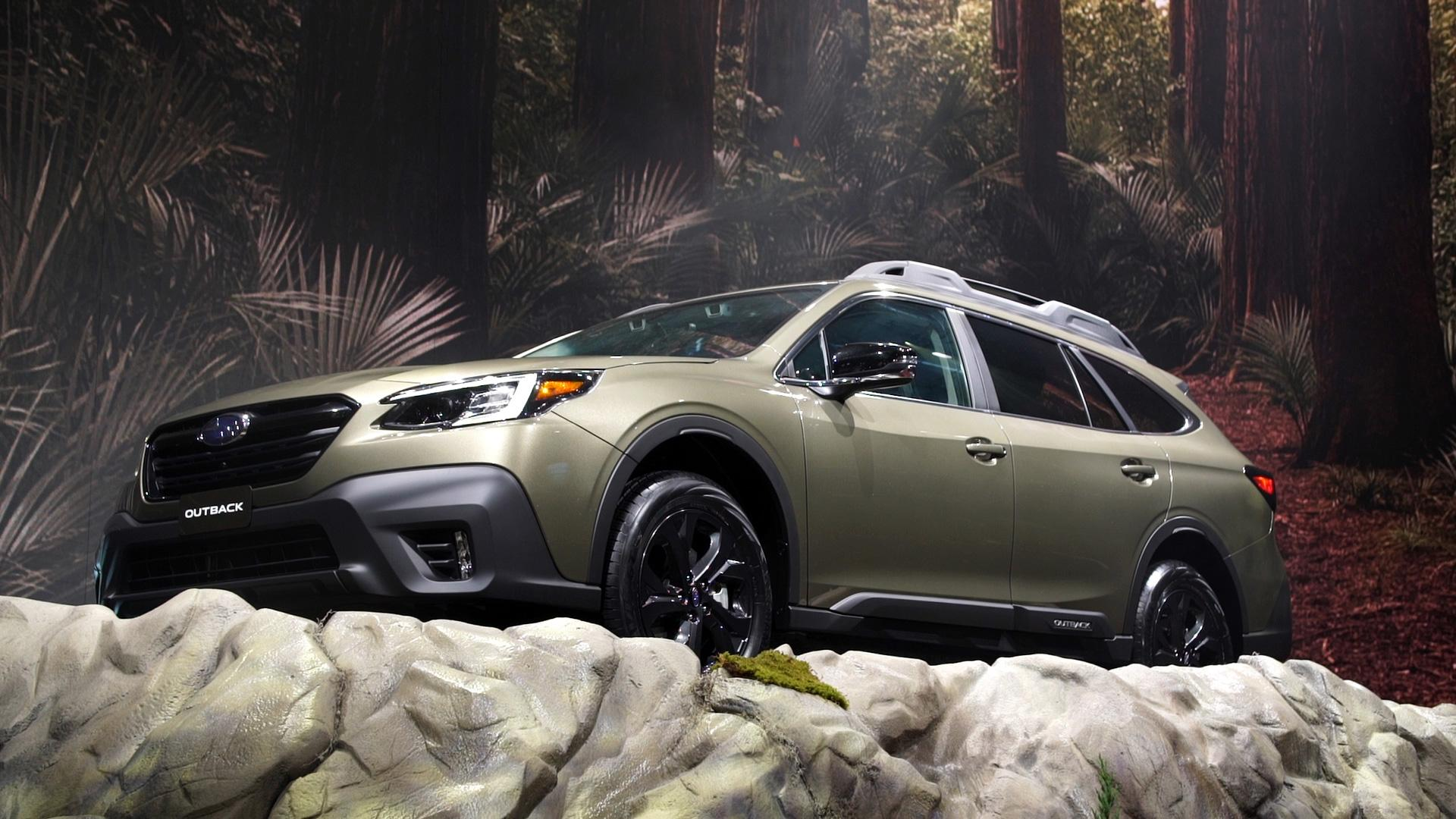hight resolution of 2020 subaru outback adds turbo and more tech