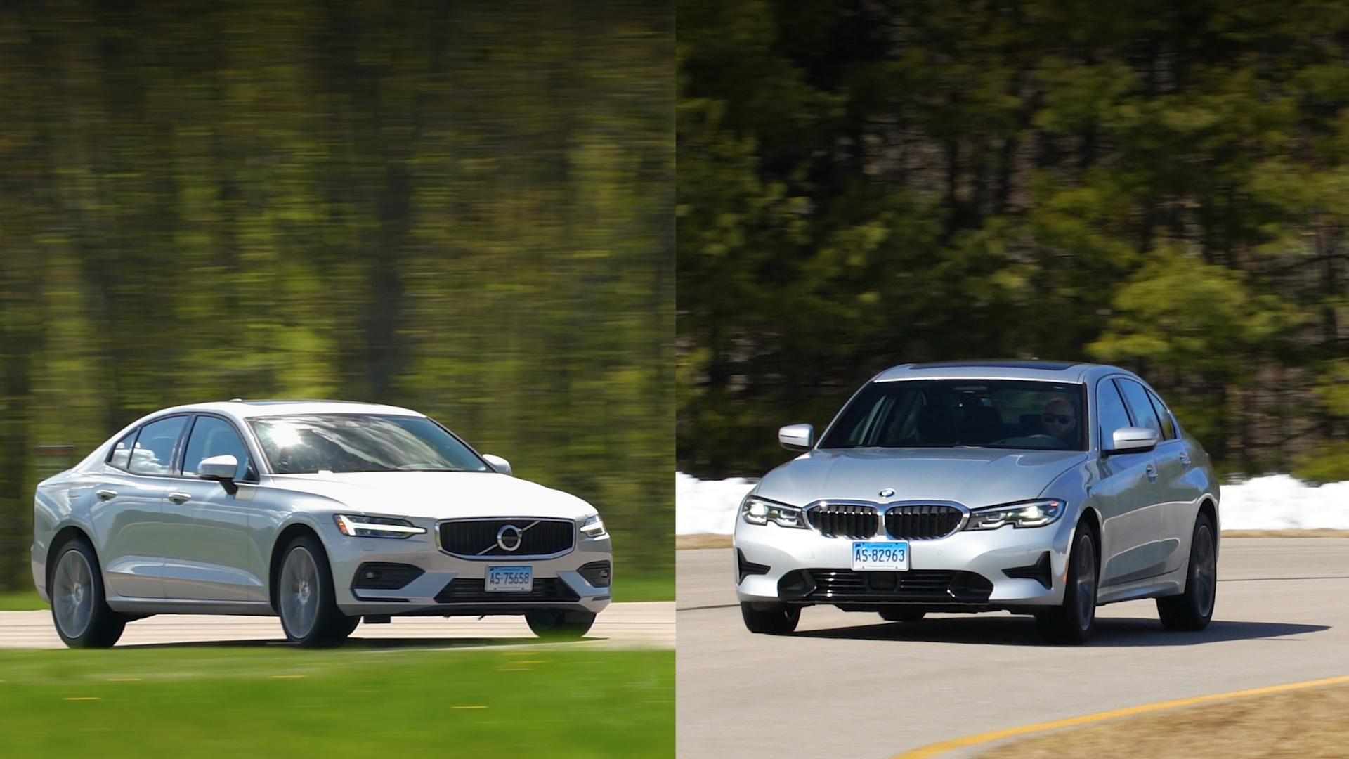 small resolution of talking cars 207 bmw 3 series vs volvo s60