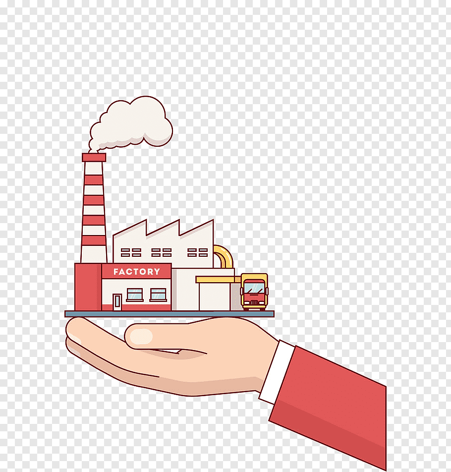 Building Industry Factory Business Drawing Hand Line Area Free Png Pngfuel