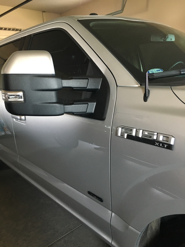 2018 F150 Tow Mirrors : mirrors, Mirrors, Color, Matching, Skull, Forum, Community, Truck