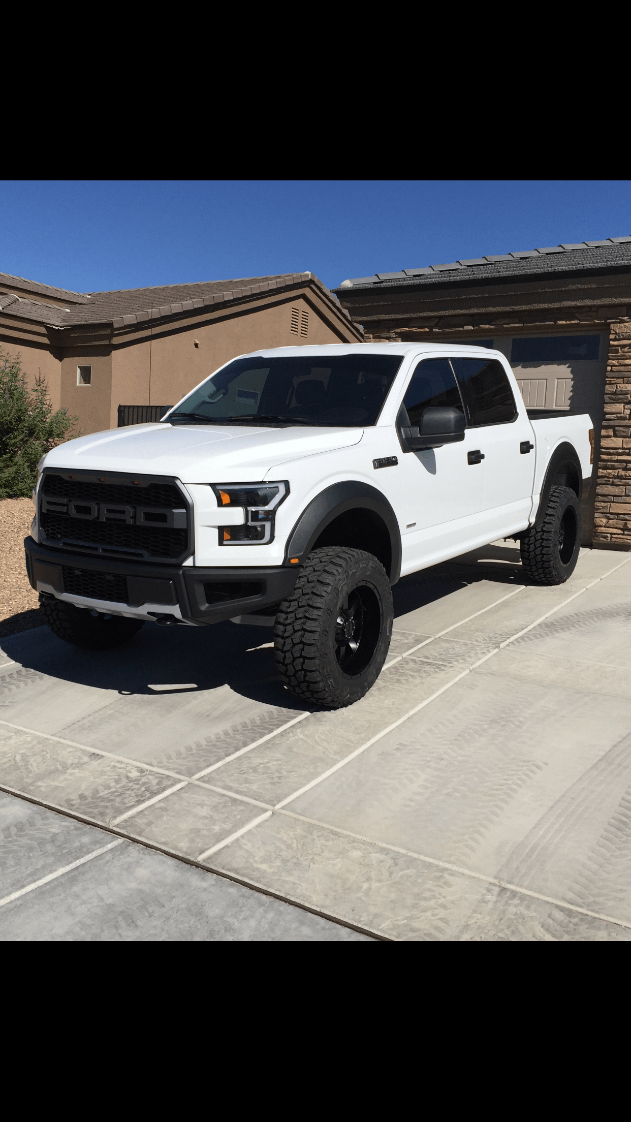 White Ford F150 With Black Rims : white, black, Oxford, White, Up!!!!, Forum, Community, Truck