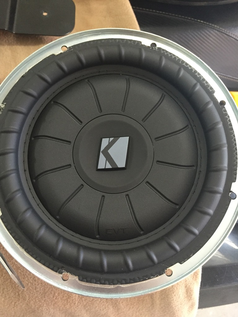 Polyfill Subwoofer : polyfill, subwoofer, Review/Pics, Filled, Kicker, Subwoofer, Enclosure, Forum, Community, Truck