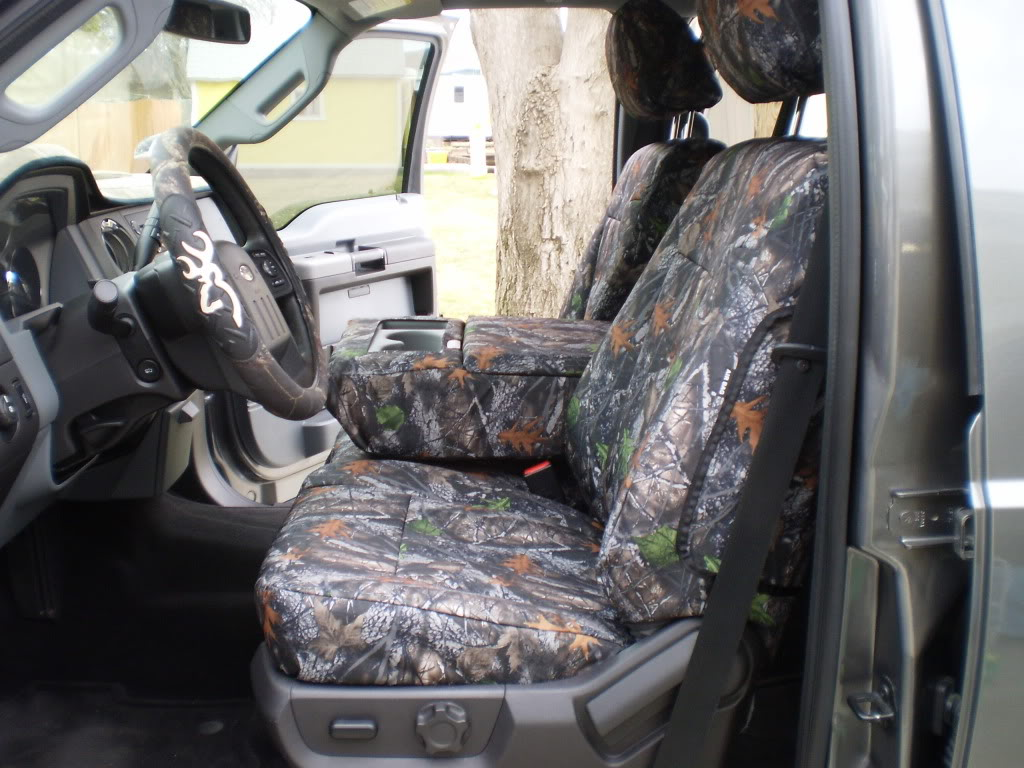 Headwaters Seat Covers 20112016 F150 Xlt 402040 Front