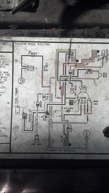 95 F150 5.0 Vacuum Line Diagram : vacuum, diagram, Vacuum/Emission, Diagram, Forum, Community, Truck