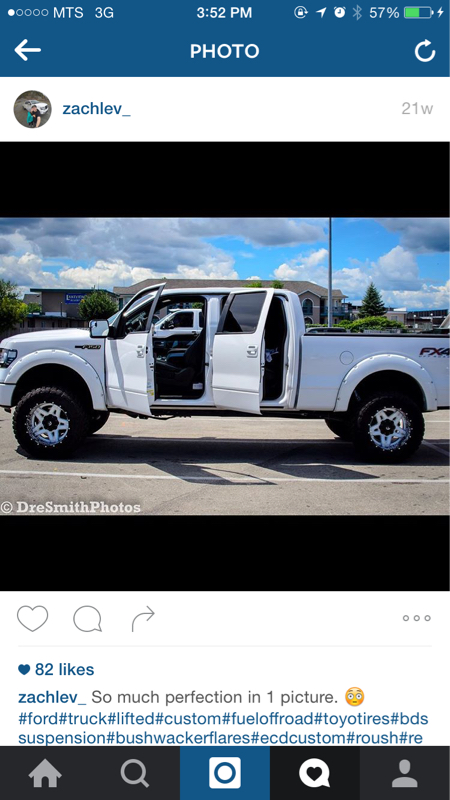 White Ford F150 With Black Rims : white, black, Looking, White, Black, Forum, Community, Truck