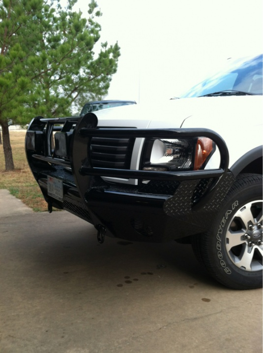 2011 F150 Front Bumper : front, bumper, Replacement, Bumper, Who's, Forum, Community, Truck