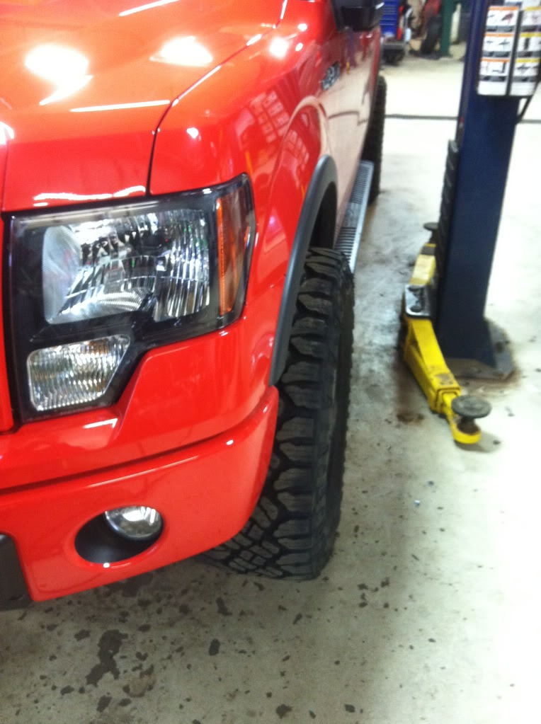 Biggest Tires On Stock F150 20 Inch : biggest, tires, stock, Biggest, Tires, Possible, Leveled, F-150!, Check, Forum, Community, Truck