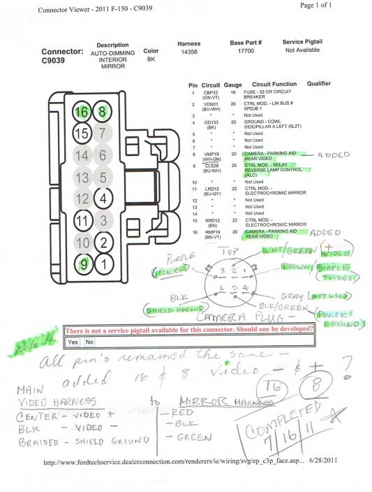 Backup Camera Wiring Schematic : backup, camera, wiring, schematic, Camera, Forum, Community, Truck