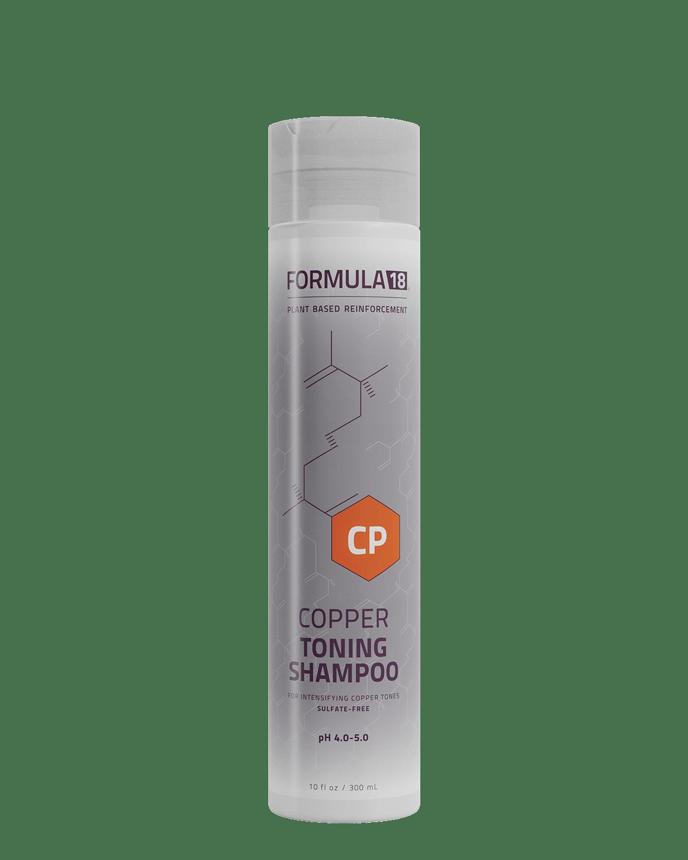 Copper Toning Shampoo - FORMULA18 HAIR