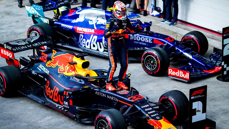 Max Verstappen prolonge avec Red Bull jusqu'en 2023