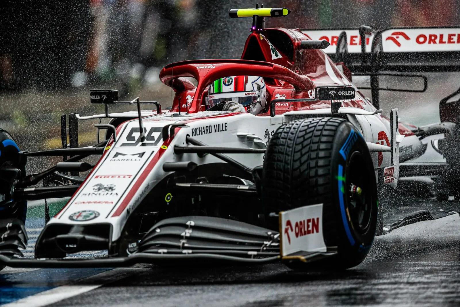 Antonio Giovinazzi pénalisé de 5 places sur la grille — GP de Styrie