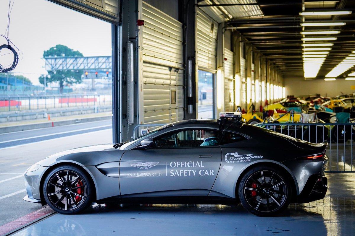Aston Martin aura des voitures de sécurité en 2021