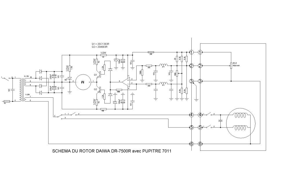 medium resolution of daiwa dr 7500