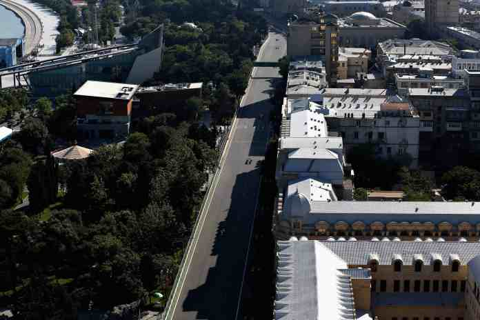 f1chronicle-Azerbaijan Grand Prix street circuit