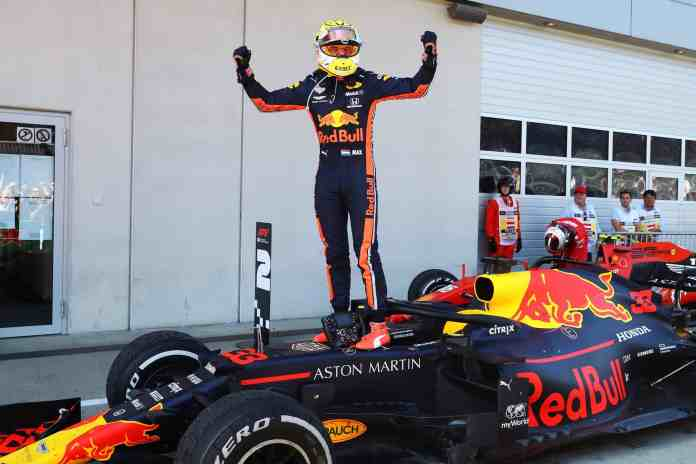 2019 Austrian Grand Prix, Sunday - Max Verstappen