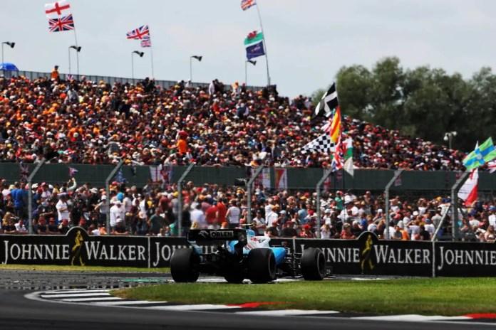 Robert Kubica (POL) Williams Racing FW42. British Grand Prix, Sunday 14th July 2019. Silverstone, England.
