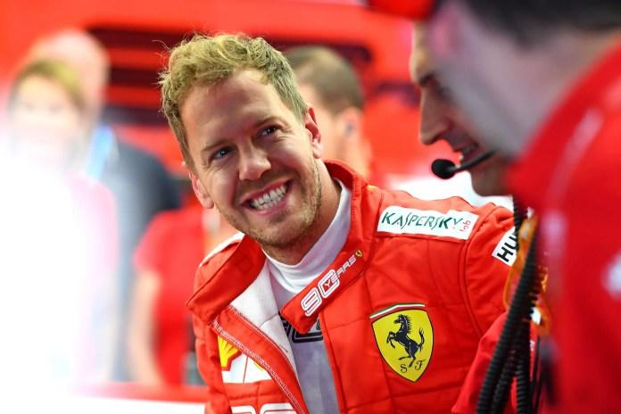 2019 Belgian Grand Prix - Day 1: Sebastian Vettel (image courtesy Scuderia Ferrari Press Office)