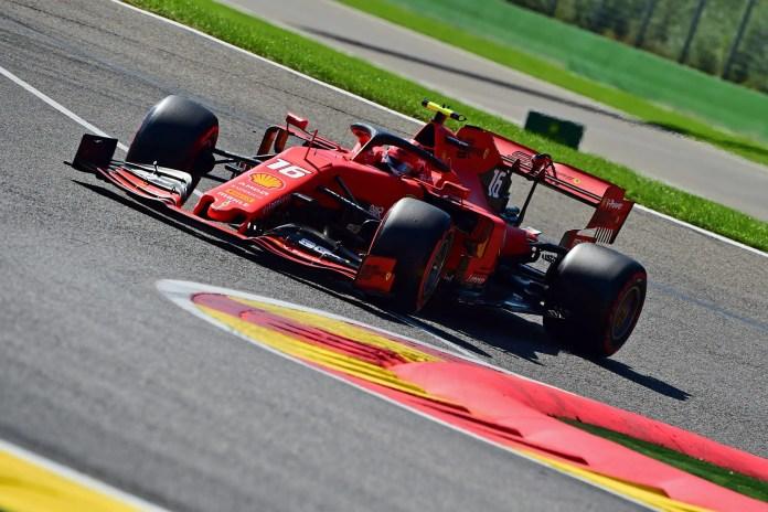 f1chronicle-2019 Belgian Grand Prix - Day 1: Charles Leclerc (image courtesy Scuderia Ferrari Press Office)