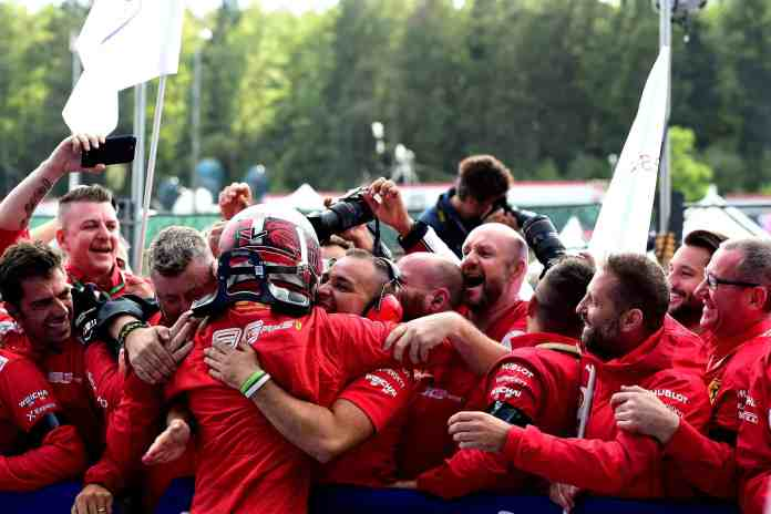 2019 Belgian Grand Prix - Charles Leclerc (image courtesy Scuderia Ferrari Press Office)