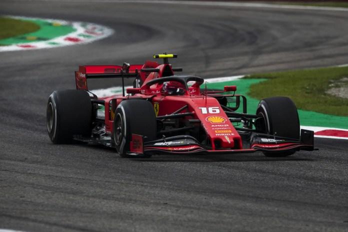 f1chronicle-2019 Italian Grand Prix, Friday - Charles Leclerc (image courtesy Ferrari Press Officer)