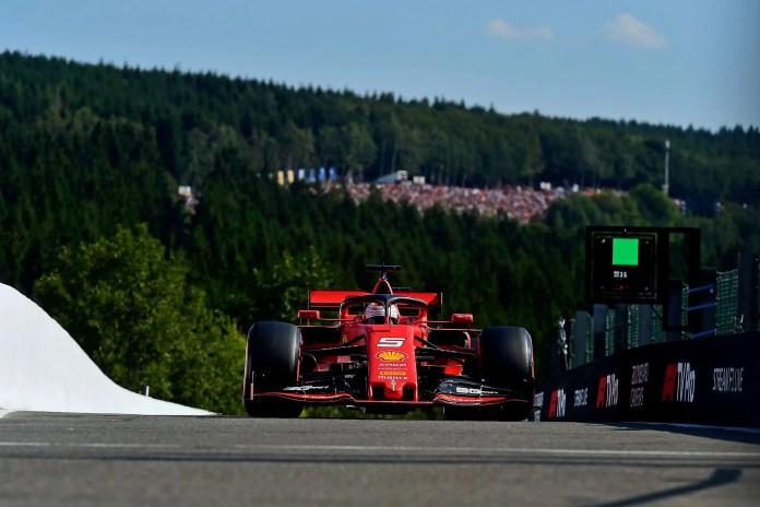 2019 Belgian Grand Prix - Sebastian Vettel (image courtesy Scuderia Ferrari Press Office)