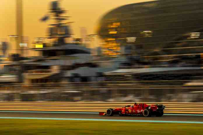2019 Abu Dhabi Grand Prix - Charles Leclerc (image courtesy Scuderia Ferrari Press Office)