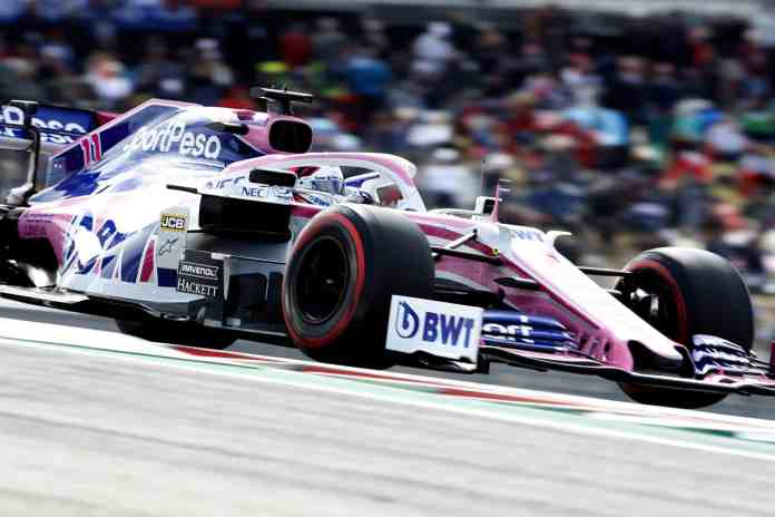 2019 United States Grand Prix, Sunday - Sergio Perez, Racing Point RP19 (image courtesy Racing Point)