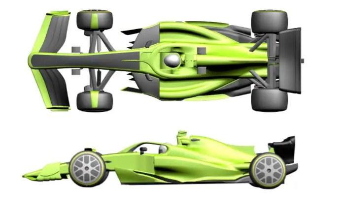 Aerodynamic regulation - visual differentiation 1