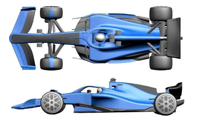 Aerodynamic regulation - visual differentiation 2