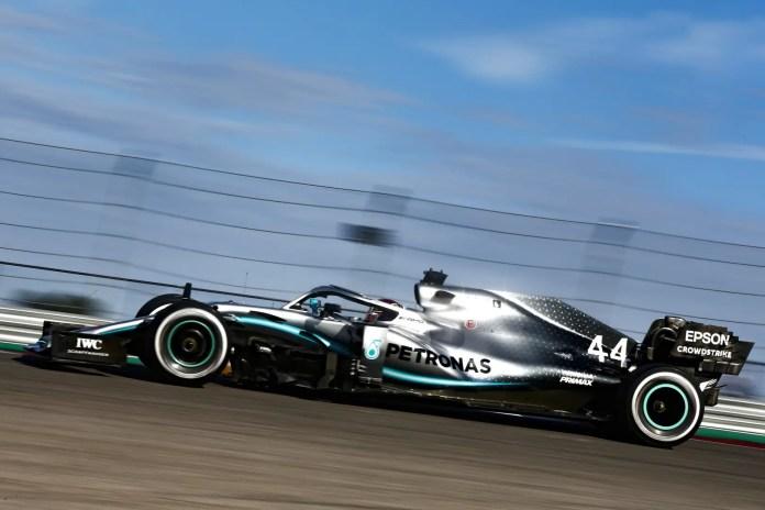 2019 United States Grand Prix, Friday - Lewis Hamilton (image courtesy Mercedes-AMG Petronas)