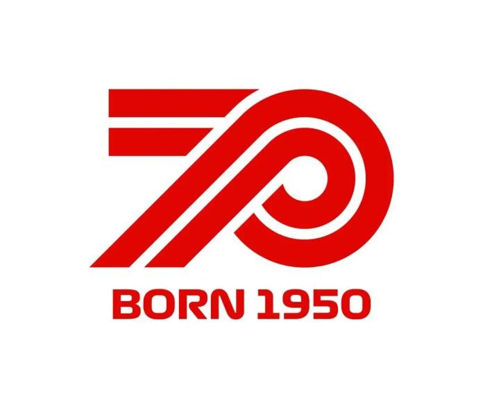 f1chronicle-Formula 1 70th Anniversary Logo
