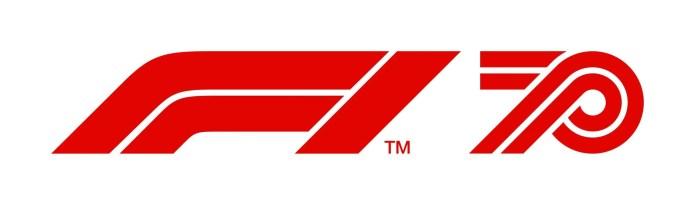 Formula 1 70th Anniversary Logo