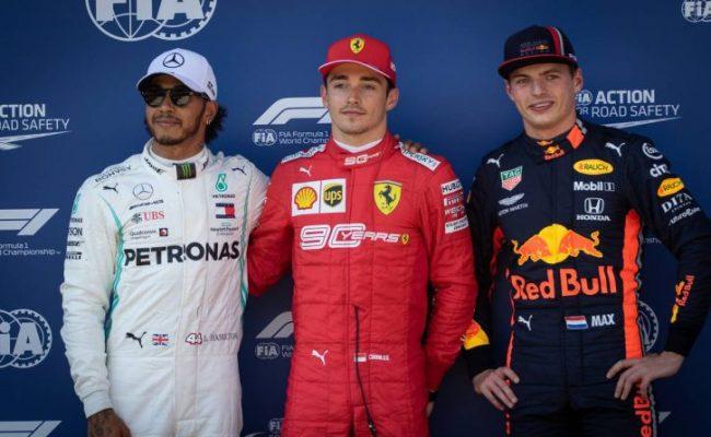Leclerc Beats Hamilton To Austrian Gp Pole As Vettel