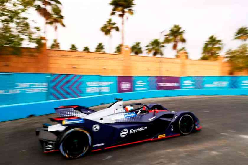 Virgin Racing E-Prix Marrakesh