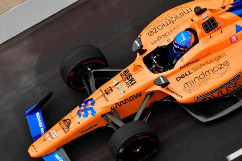 Alonso Indianapolis
